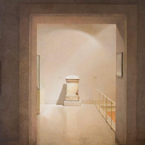 Puerta · Óleo/Lienzo · 185 x 120 cm