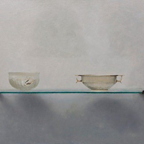 Cristales · Óleo/Tabla · 70 x 40 cm