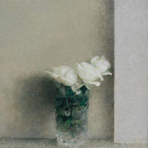 Rosas II · Óleo/Tabla · 35 x 29 cm