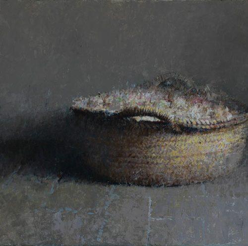 Cesta · Óleo/Lienzo · 100 x 50 cm