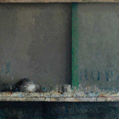 Codorniz I · Óleo/Tabla · 50 x 50 cm