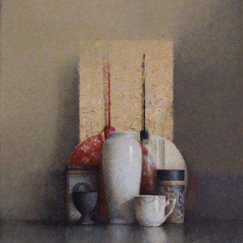 Rojo · Óleo/Lienzo · 46 x 38 cm
