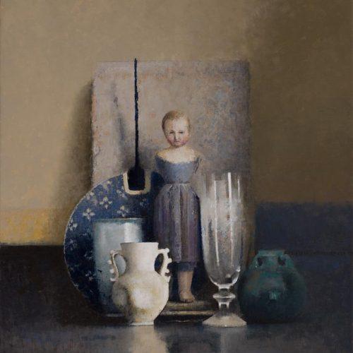 Azul · Óleo/Lienzo · 46 x 38 cm